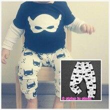 Brand Cotton Baby Pants For Boys Knitted Children Girls Pants Leggings Fashion Kids PP Pants free shipping