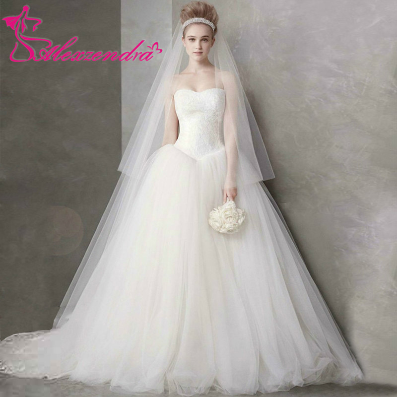 Compare Prices on Simple White Wedding Gowns- Online Shopping/Buy ...