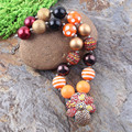 2015 Newest Thanksgiving Day Chunky Bubblegum Necklace 1PC Turkey Pendant for Beads Necklace Jewelry