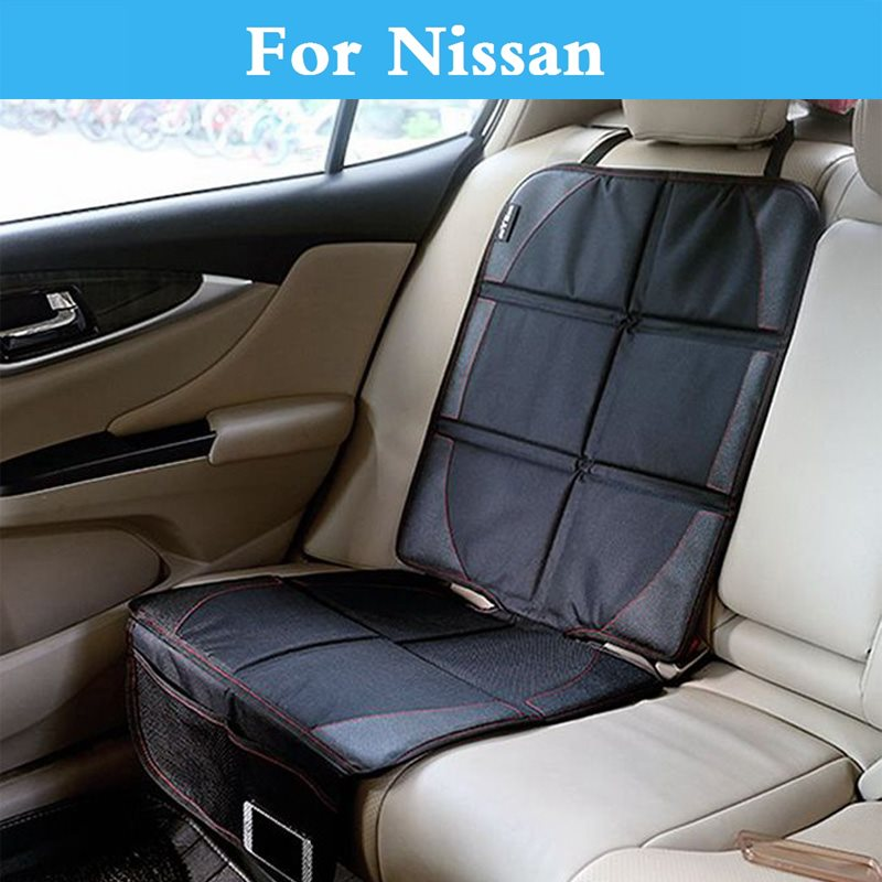 AntiSlip auto Seat Cover Under Baby Safty Mat Protection For Nissan Maxima Micra Moco Murano Note Fairlady Z Figaro Fuga Leaf