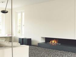 18 inch intelligent smart automatic bio ethanol wifi electric fireplace