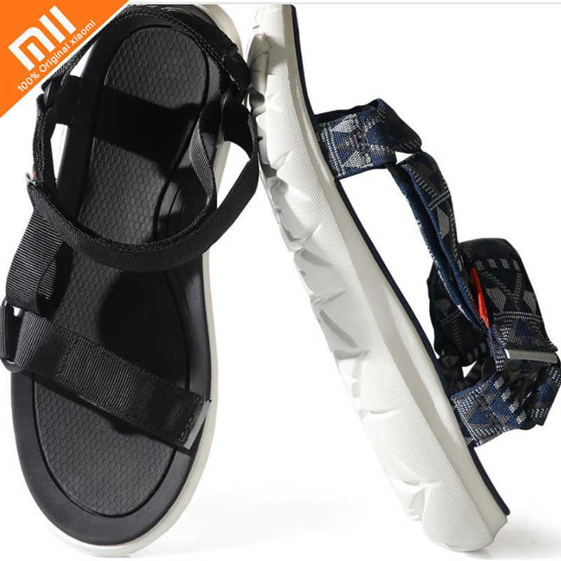 a6285aabc02 Original xiaomi FREETIE curved magic belt sandals Non-slip wear-resistant  free buckle sandals