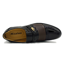 Misalwa Formal Shoes Microfiber Leather Quality For Business 37-46