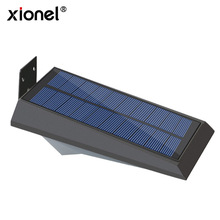 Xionel hot products solar panel with 18 leds solar motion sensor solar wall light