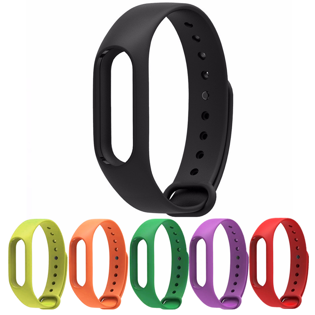 2019 NEW Replace Watch Strap Silicone Wristband for Xiaomi Mi Band 2  Bracelet Watch Band for Mi Band 2 No Sensor
