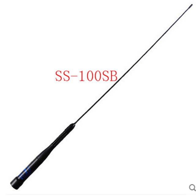 SS-100SB Sma-macho Antena Móvil de banda dual 145/435 MHz antena 2.5dBi 80 W SS 100SB PL239 conector BALCK