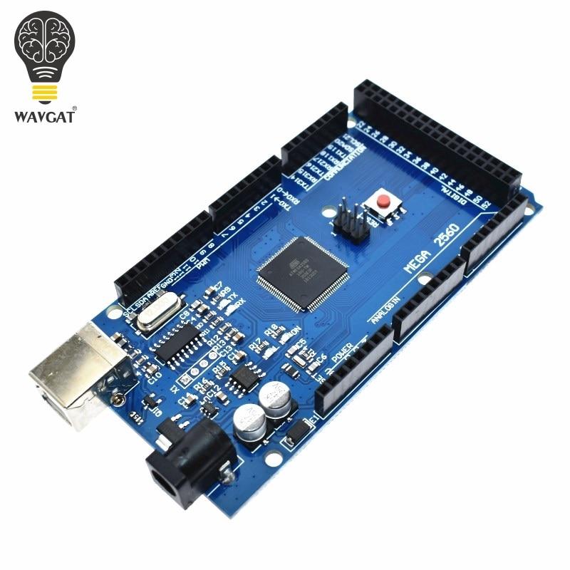 MEGA2560 MEGA 2560 R3 ATmega2560-16AU CH340G AVR USB Placa de placa de desarrollo MEGA2560 para arduino