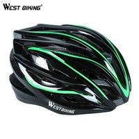 West biking ultraleve mtb capacete da bicicleta de corrida ajustável ciclismo ao ar livre adulto capacetes da bicicleta estrada acessórios