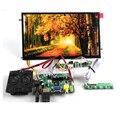 HDMI VGA 2AV 30 Pinos LVDS PC Placa Controladora Do Monitor + IPS TFT B101XAN01.2 1366X768 1ch 8 bit 16:9 Painel LCD Para Raspberry Pi 3
