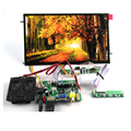 HDMI VGA 2AV 30 Pins LVDS PC Monitor Controller Board + IPS TFT B101XAN01.2 1366X768 1ch 8 bit 16:9 LCD Panel For Raspberry Pi 3