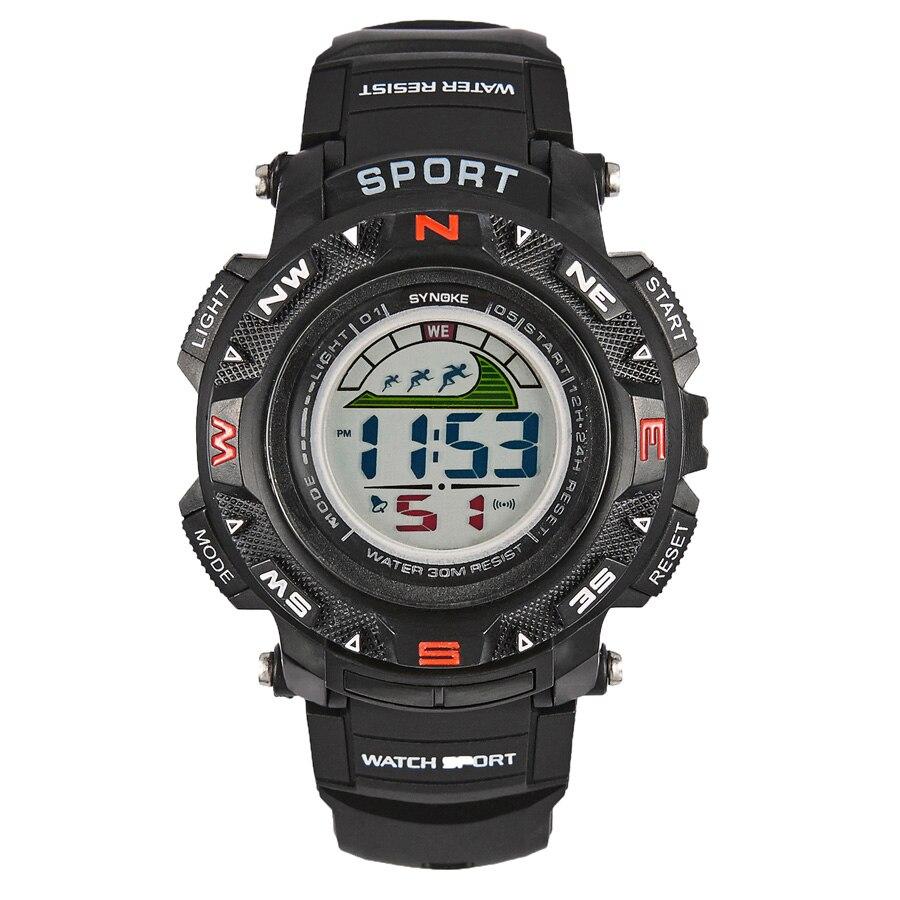 SYNOKE Watches Kindertimer LED Back Light Sport Kids Digital Horloges - Kinderhorloges - Foto 4