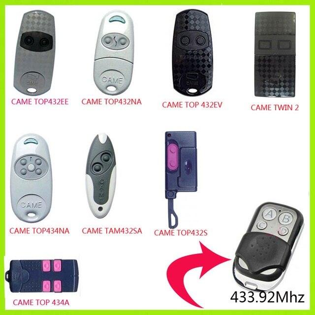 Duplicator CAME TOP432NA TOP432EE TOP432EV Copy CAME TAM432SA TOP432S remote control 433.92mhz remote control (with battery)Duplicator CAME TOP432NA TOP432EE TOP432EV Copy CAME TAM432SA TOP432S remote control 433.92mhz remote control (with battery)