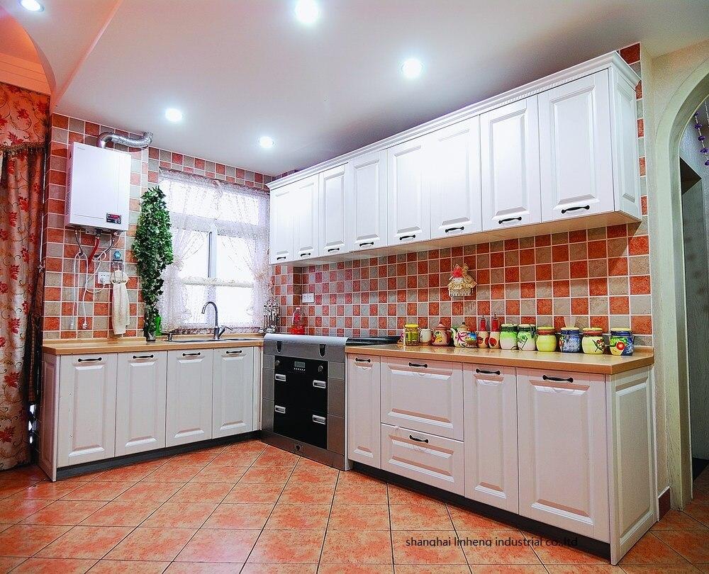 PVC/vinyl kitchen cabinet(LH-PV065) pvc vinyl kitchen cabinet lh pv068