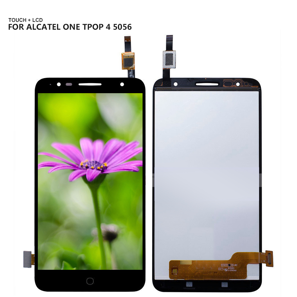 For Alcatel Pop 4+ 4 plus OT5056 5056D 5056T 5056E 5056A 5056 Touch Screen Digitizer Glass LCD Display Assembly + ToolsFor Alcatel Pop 4+ 4 plus OT5056 5056D 5056T 5056E 5056A 5056 Touch Screen Digitizer Glass LCD Display Assembly + Tools