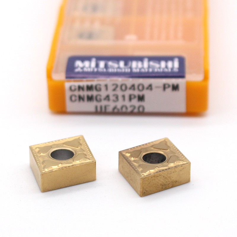 CNMG120404 PM UE6020 10PCS carbide inserts Internal latter cutter turning tool for metal cnc machine cutting tools CNMG 120404