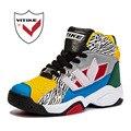 2017 Zapatos de Baloncesto de Niños Kids Sneakers Transpirable A Prueba de Golpes Al Aire Libre Grandes Niños Niñas Deporte Zapatos Corrientes Zapatillas de deporte
