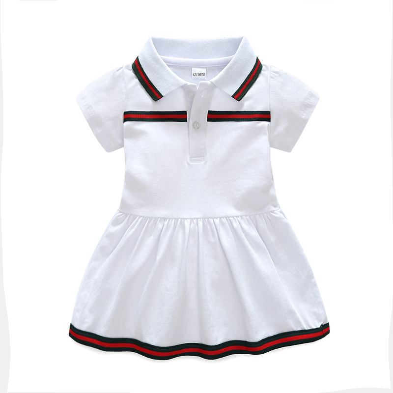 Newborn Baby Dress Baby Girl Clothes High Quality Toddler Kids Casual Dress Newborn Clothes Summer  Bebe Cotton Clothes