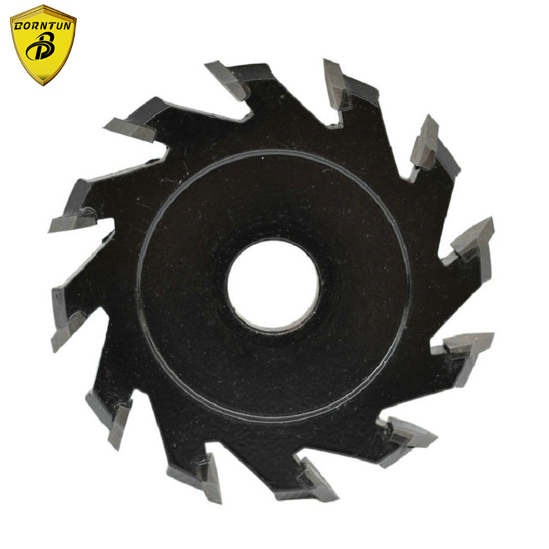 Borntun Circular Saw Cutter Round Sawing Cutting Blades Discs Open Aluminum Composite Panel Slot Groove Working with Wall Chaser