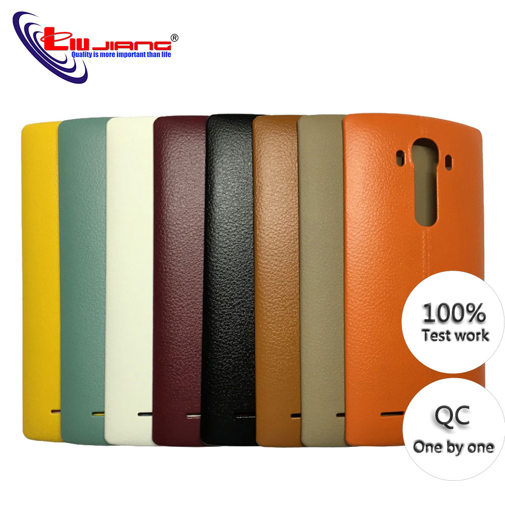 NEW Battery Back Cover Housing Case Door Rear Cover & NFC For LG G4 H815 H810 H811 LS991 US991 VS986 Replacement Parts image