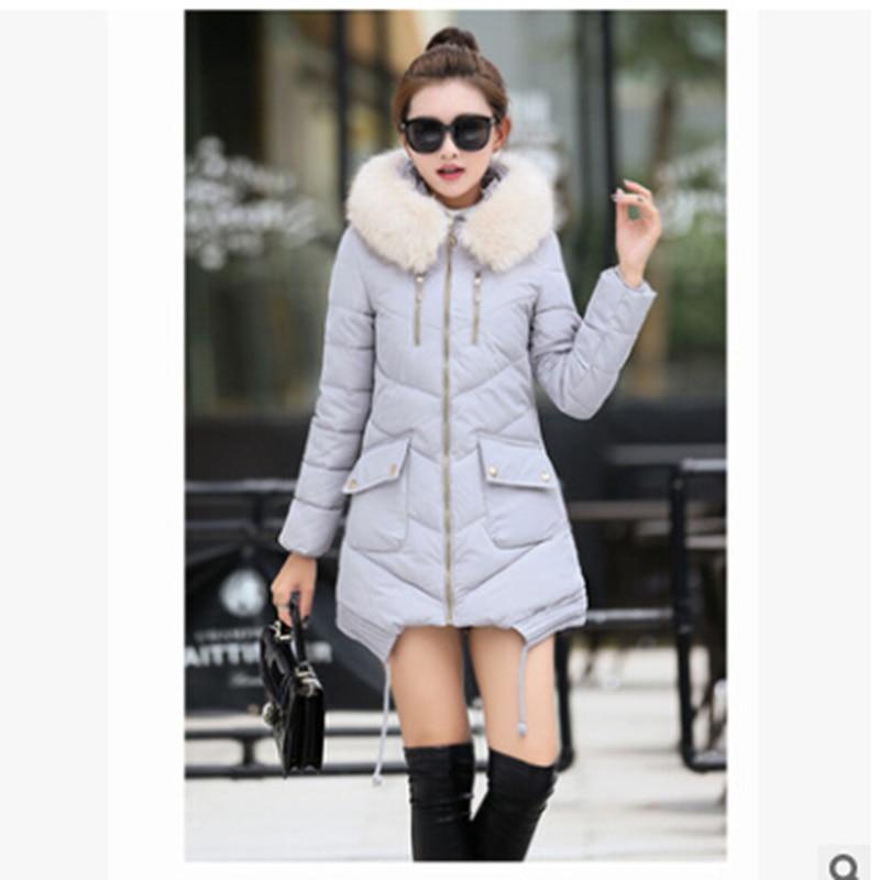 ФОТО manteau femme winter jacket women coat parka coats jaqueta feminina down womens jackets and fur parkas for 2016 casual casaco