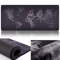 ZUOYA Extra Large Gaming Mouse pad World Map Locking Edge Mouse Mat Gaming mouse Anti-slip Rubber Mousepad For Game Laptop mouse