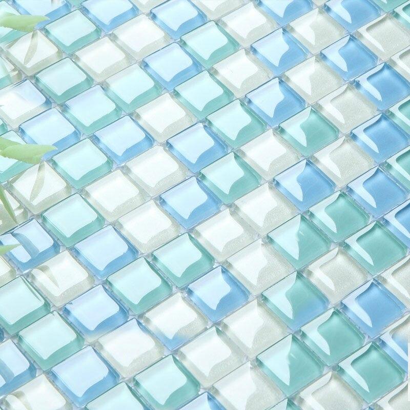 Crystal Gl Tile Sheets For Shower