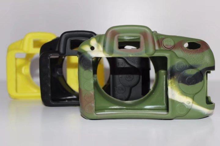 Souple En Silicone En Caoutchouc Caméra De Protection Corps sac Cas Peau Pour Nikon D7200 D7100 D3100 D3200 D3300 D5300 D7000 D5500 D810 D3400