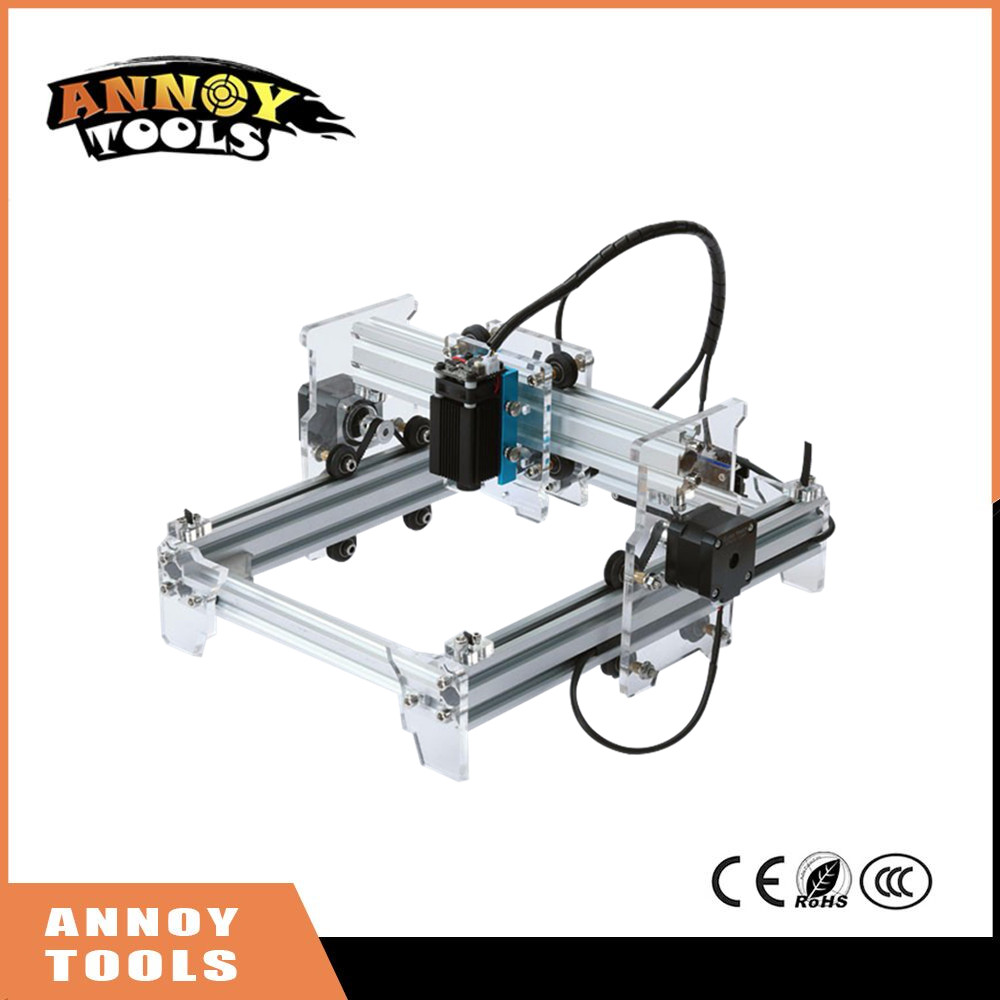 Annoytools new laser engraver 500mw/1600mw/2500mw 15x20cm working area diy mini laser engraving machi