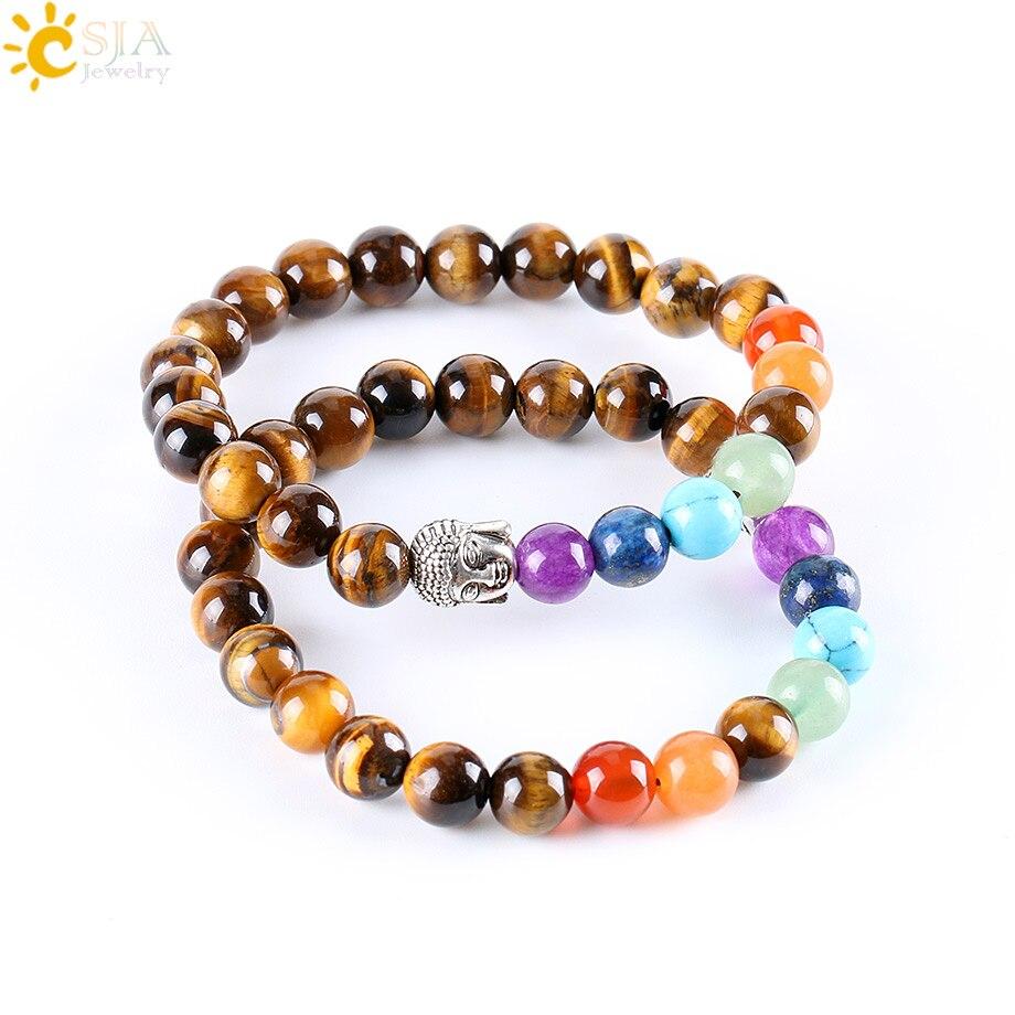 Tiger's Eye Chakra Bracelet 3