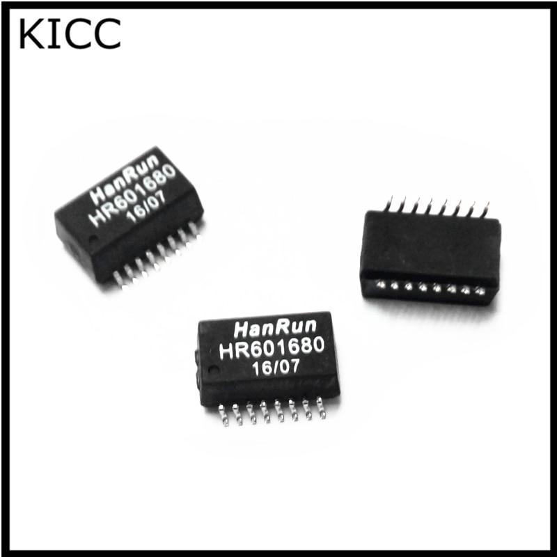 10 PCS HR601680 Network transformer SOP-16 HANRUN NEW