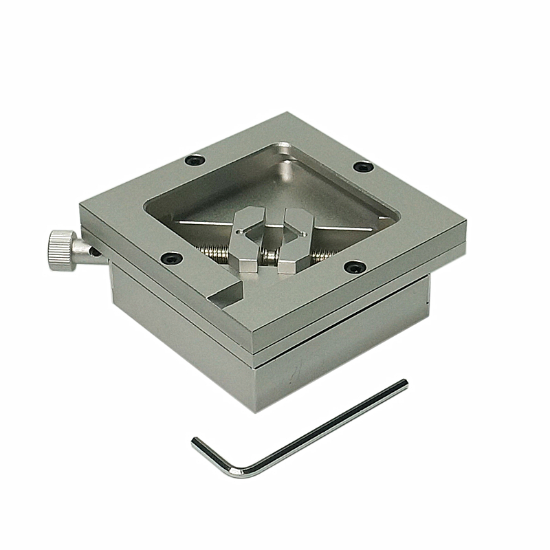 Tools : 90x90mm Silver BGA Reballing Station Stencils Template Holder Fixture Jig For BGA PCB Chip Soldering Rework Repair