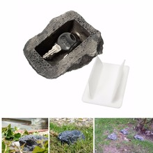 Outdoor Muddy Mud Spare Key House Safe Hidden Hide Security Rock Stone Case Box promotion muddy synthetic resin stone hide for key safe stash hollow secret hide hidden case box