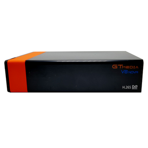 Image 5 - 3 Pz/lotto Gtmedia V8 NOVA DVB S2 ricevitore satellitare Costruito in wifi supporto H.265 freesat V8 super set top box di alimentazione vu