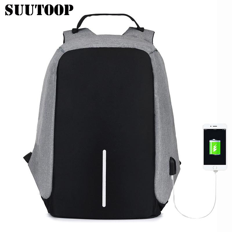 2019 Bobby Travel Anti Theft Backpack Mochila Bagpack Large USB Men Laptop Backpacks College School Book Bags Sports Schoolbag
