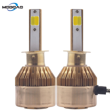2pcs Mini Size Led H7 H4 H11 H1 Car Headlights Bulbs 6000K 12V 3600LM Auto HeadLamp LED HeadLight