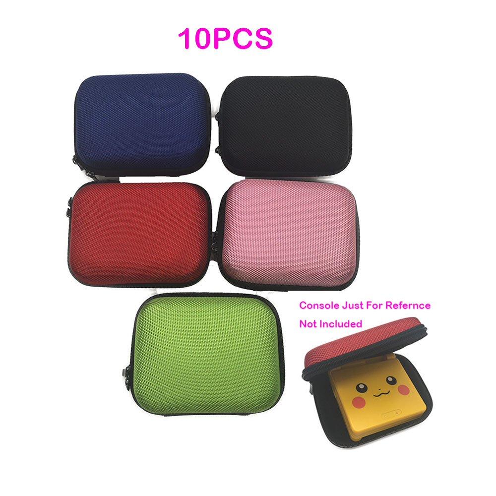 10pcs For Nintendo Game Boy Advance SP Hard Airform Airfoam Protective Game Pouch Bag Box Case