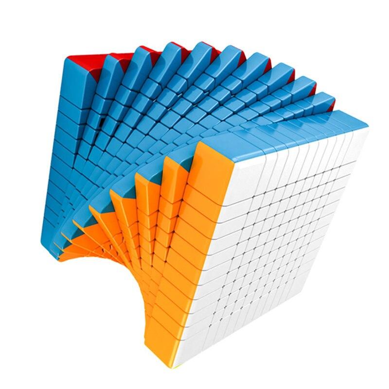 3 sortes 11x11x11 Cube magique de compétition professionnelle, 11x11 jouets de Cube de vitesse pour les garçons Puzzles jouets éducatifs