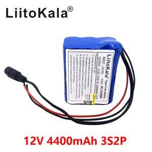 Image 3 - Liitokala 12 v 4.4 אה 4400mAh 18650 נטענת סוללות 12V עם BMS ליתיום סוללות הגנת לוח