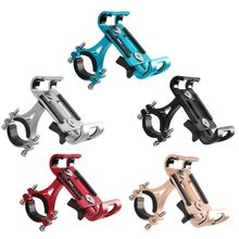 New Aluminium Alloy Bike Phone Holder 3.5-6.5 Cell GPS Mount Bicycle Support Cycling Bracket