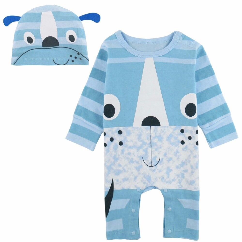 Baby Boys Girls Panda Fox Frog Crocodile Costume Romper Infant ...