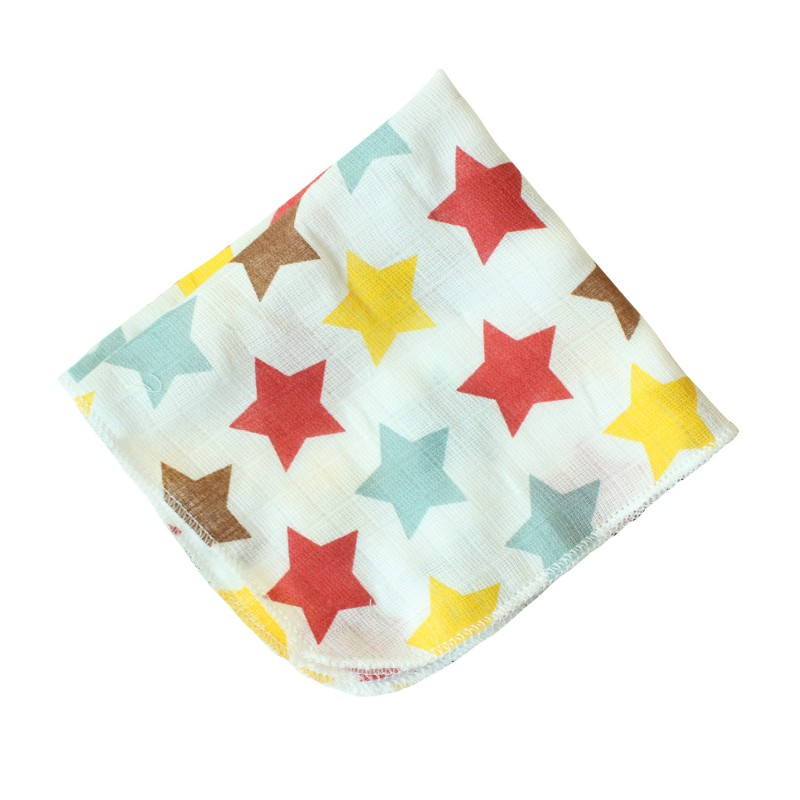 Baby Bibs Cotton Cute Cartoon Baby Accessories Infant Saliva Towel Babador Newborn Baby Stuff