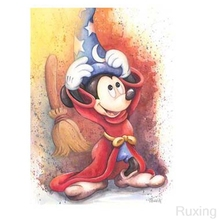 Diamond Embroidery Mickey mouse 5D DIY Painting Cross Stitch picture Rhinestones Decor Childrens handmade gifts