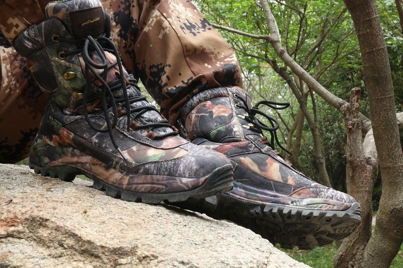 Zapatos Hombres Montaña Black Tácticos Para Libre Impermeables khaki Antideslizante Botas brown De Senderismo Deportivos Al Acampar Escalada Aire rrBR47qv