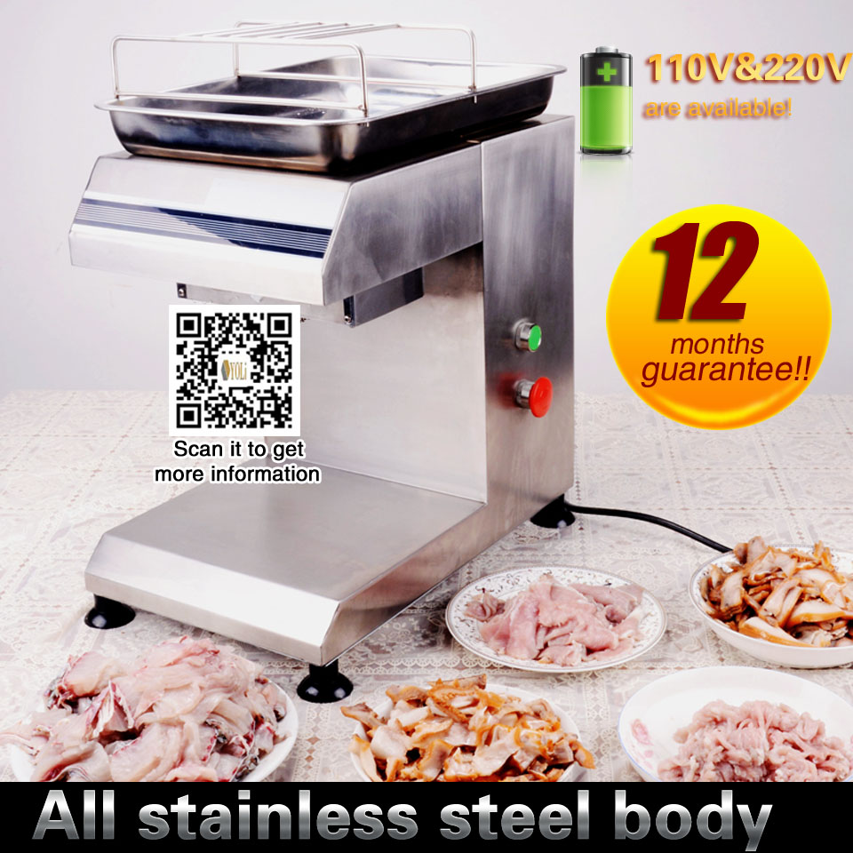 Commercial Meat Slicer For Sale Stainless Steel  Meat Slicer Free Shipping  110-240v