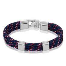 JAAFAR 2017 High quality new fashion bracelets, men's leather rope bracelets, jewelry, men's friendship bracelets AS165