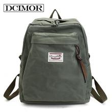 DCIMOR Women Backpack Water washed cloth leisure knapsack Young girls schoolbag Daypacks Backpack Laptop backpack travel Mochila