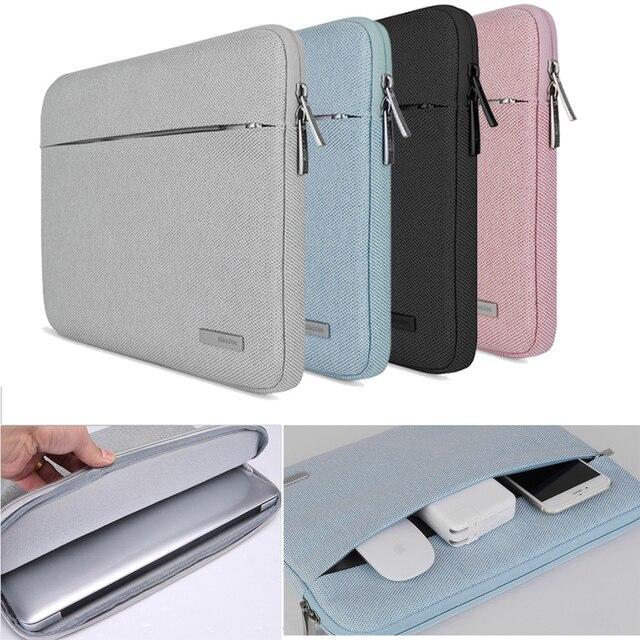 11 13 13.3 ノートブックバッグケース macbook air は pro の 16 網膜レノボデル、 hp 、 asus エイサー表面プロ 3 4 5 6 ラップトップスリーブ 15.6