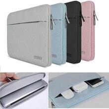 11 13 13.3 torba na notebooka etui na macbooka Air Pro 16 siatkówki Lenovo Asus Acer surface pro 3 4 5 6 pokrowiec na laptopa 15.6