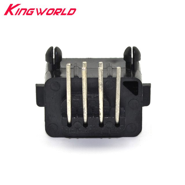 10pcs Hight quality Replacement Parts 90 Degree 7 Pin Connector female for NES console Socket