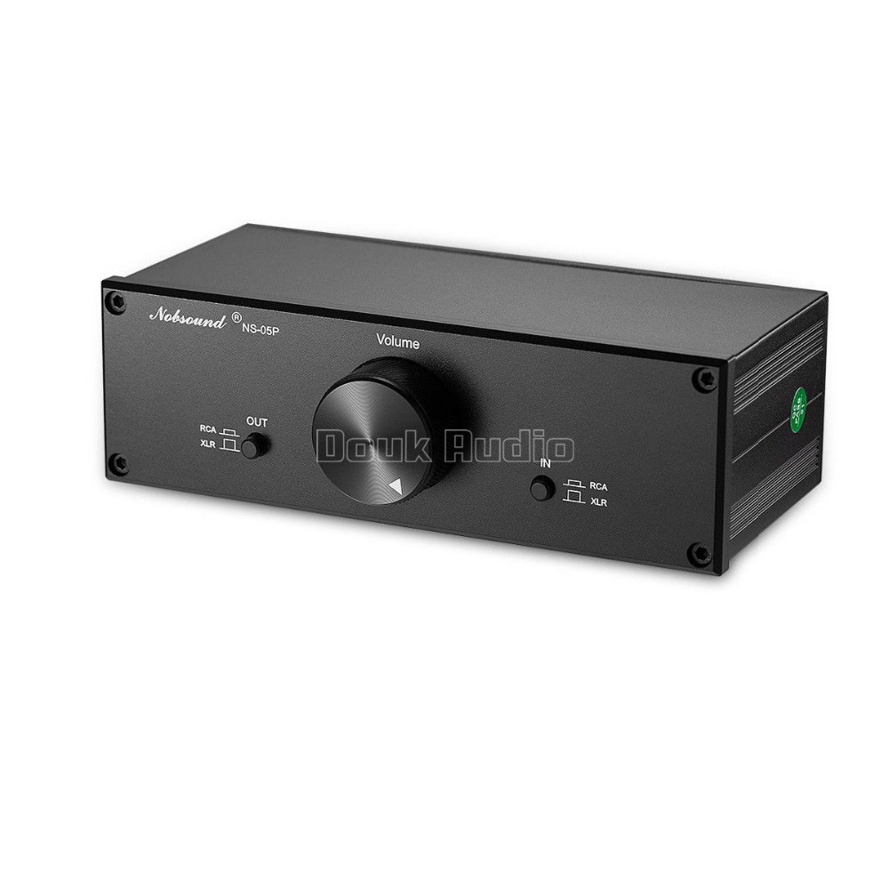 Douk Audio préamplificateur passif entièrement équilibré préamplificateur XLR/RCA contrôleur de Volume